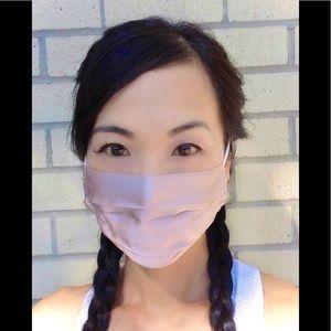 4 x 100% Luxurious Silk Face Mask-Dusty Rose